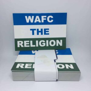 WAFC The Religion: Wigan Athletic FC Stickers