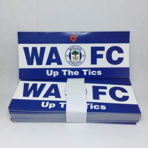 Up the Tics: Wigan Athletic FC Stickers