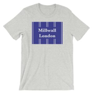 Millwall London Retro 1993 Heather Athletic T-Shirt